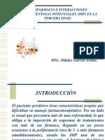 Polifarmacia e Interacciones Medicamentosas Potenciales (Imp)
