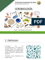 Microbiologia Medica Tema 1