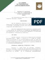 protocolo de Teguicipal