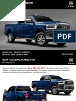 RDC 020_2019 - NOVA RAM 2500 LARAMIE 2019