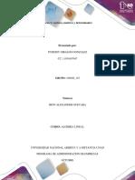Vectores, matrices y determinantes