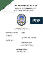 Informe Modelo - Caudal