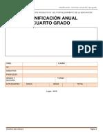 4.-Planificacion Anual de Cuarto Grado -
