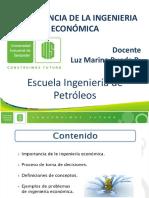 1-Importancia Ingenieria Económica