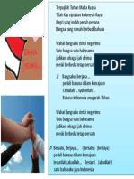Lirik Himne Bahasa Indonesia