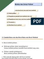 11Molecular Weight of Polymer Rev