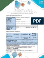 Guía de Actividades y Rúbrica de Evaluación - Tarea 3 - Aplicar Proceso Administrativo a Un Servicio de Salud (1)