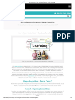 Aprenda Como Fazer Um Mapa Cognitivo - JRM Coaching
