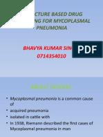 Structure Based Drug Designing for Mycoplasmal Pneumonia