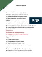 Banco de Logros Lengua Castellana
