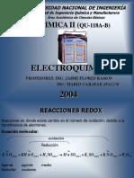 Electroquimica, reacciones redox