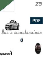 Manuale Italiano BMW Z3 ver. 2003