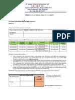 Format Surat Pernyataan Tidak Dijamin Oleh Lps (Devina)