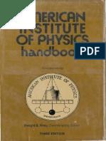 American Institute of Physics Handbook, 3rd ed. [1972].pdf