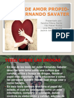 Etica de Amor Propio- Fernando Savater