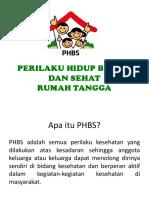 Materi Refreshing Kader PHBS