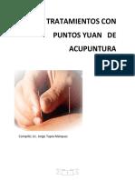 Tratamientos con puntos Yuan de acupuntura