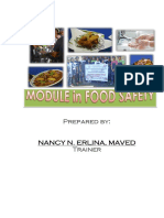 Module in Food Safety