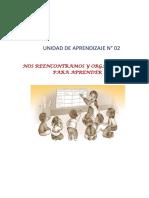 F-UNIDAD DE APRENDIZAJE N° 02 - SEXTO GRADO