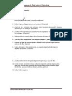 Examen de Nutricion y Dietetica