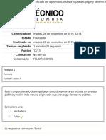 DIPLOMADO DE CONTRATACION ESTATAL EVALUACIÓN MÓDULO 4