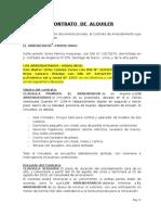 Contrato de Alquiler Huaraz