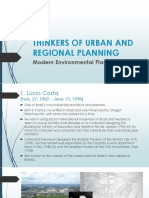 Urban Planner Thinkers