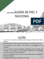 Semiologia de Piel y Mucosas