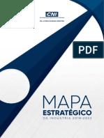 Mapa Estrategico Da Industria 2018 2022