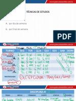 Táticas e Técnicas de Planejamento de Estudos 5