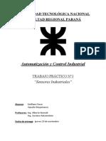 T.P. N°1 - Automatización y Control Industrial