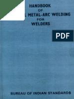 ISI Handbook of Manual Metal-arc Welding for Welders.PDF
