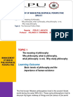 DPA 617- Mgt of Man in Philosophical Perpective_Ferlie Report