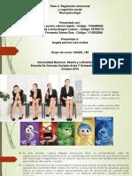 Paso 2- Regulación Emocional y Cognicion Social