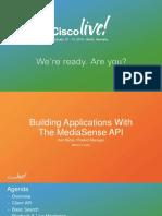 Cisco Mediasense