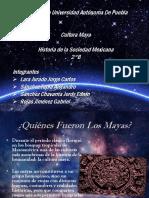 Presentación sobre la Cultura Maya