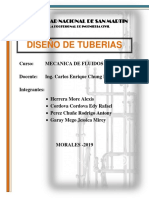 TEORIA DE DISEÑO DE TUBERIAS - Grupo 1.docx