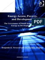 (Ashgate Studies in Environmental Policy and Practice) Benjamin K. Sovacool, Ira Martina Drupady - Energy Access, Poverty, And Development_ the Governance of Small-Scale Renewable Energy in Developing (1)