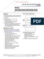 Micron MTFC2GMVEA 0M WT Datasheet