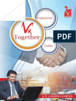 e-Brochure V R Logistics Limited
