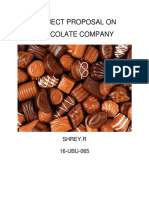 Project Proposal on Chocolate Company