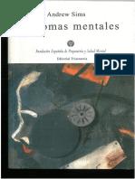 Síntomas psicopatología