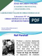 Aforador Parshall