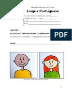 ADE - Língua Portuguesa - 2º Ano Do Ensino Fundamental