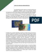 Análisis de Cuencas Hidrográficas