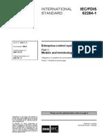 ISA95 Part 1 Models and Terminology (Draft)
