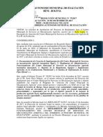 Reglamento de Administración Del CMSMA