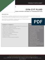 Syn CVT Fluid 62041