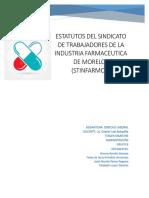 Estatutos Del Sindicato de Trabajadores de La Industria Farmaceutica de Morelos