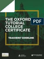 Oxford TCC exam